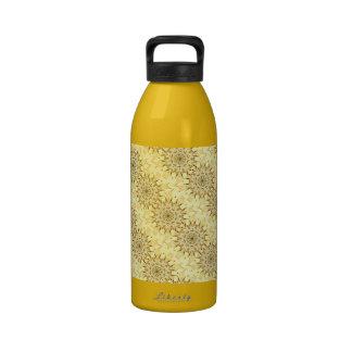Sensational Champagne Kisses Kaleidoscope Water Bottle