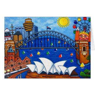 Sensational Sydney Greeting Card
