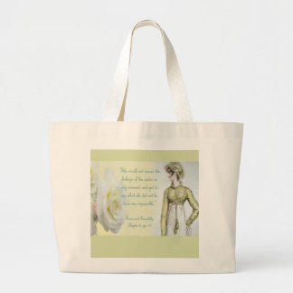 Sense and Sensibility Large Tote Bag