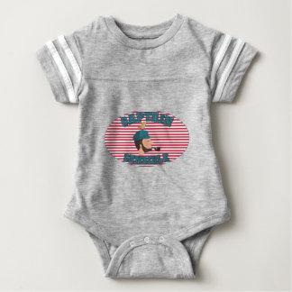 Sensitive Captaine Baby Bodysuit