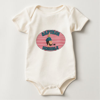 Sensitive Captaine Baby Bodysuit