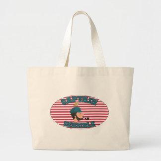 Sensitive Captaine Large Tote Bag