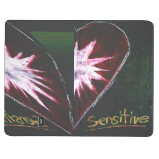 Sensitive Twist Heart - 3.5x5.5 Pocket Journal