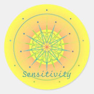 Sensitivity (Virtue sticker)