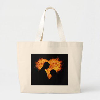 Sensuous Love Large Tote Bag