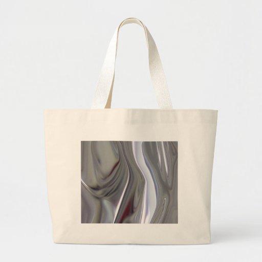 Sensuous Silver Tote Bag