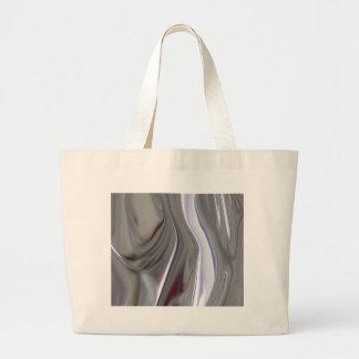 Sensuous Silver Jumbo Tote Bag