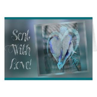 Sent With Love Carte De Correspondance