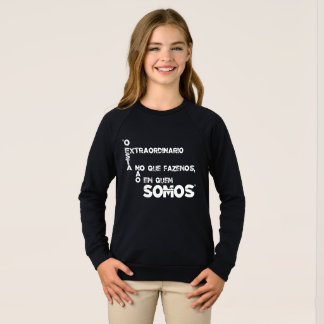 Sentences of films and games sweatshirt