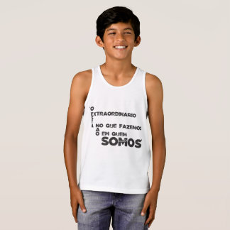 Sentences of films and games tank top
