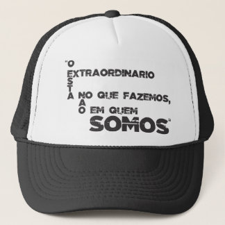 Sentences of films and games trucker hat