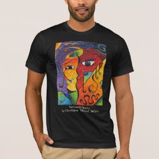 Sentimental Beauty by Christopher ORAced DeCaro T-Shirt