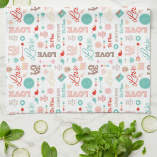 Sentiments of Love Kitchen Towel