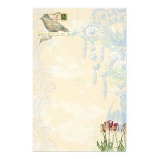 sentiments of spring Stationary Stationery