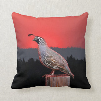 SENTINEL AT SUNSET 39 THROW PILLOW