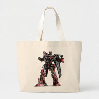Sentinel Prime CGI 1 Large Tote Bag