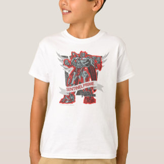 Sentinel Prime Grey Wings T-Shirt