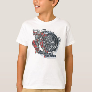 Sentinel Prime TF3 Badge Round Gears T-Shirt