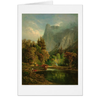 Sentinel Rock, Yosemite, California (0797A) Card