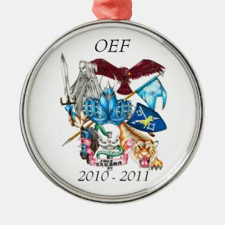 Sentinel Round Ornament OEF, 2010 - 2011