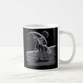 Sentinel - Silver and Gold Unicorn Mug