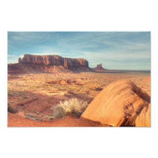 Sentinel Sunset - Monument Valley Photo Print