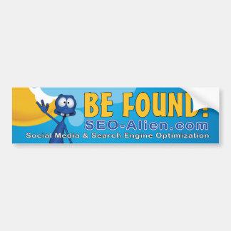 SEO Alien Bumper Sticker