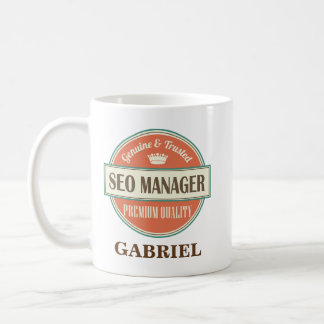 Seo Manager Personalized Office Mug Gift