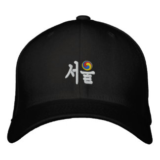 Seoul (서울) for Sale Embroidered Hat