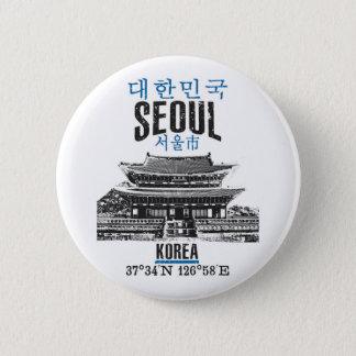 Seoul 2 Inch Round Button