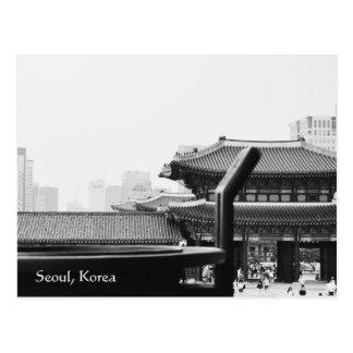 seoul korea photography postcard