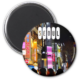 Seoul of South Korea Magnet