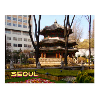 Seoul Pagoda Postcard