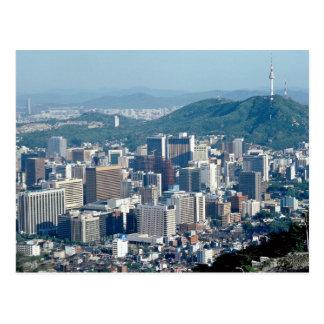 Seoul, South Korea Postcard