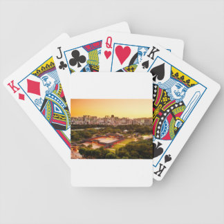 Seoul South Korea Skyline Bicycle Playing Cards