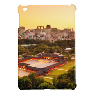 Seoul South Korea Skyline iPad Mini Covers
