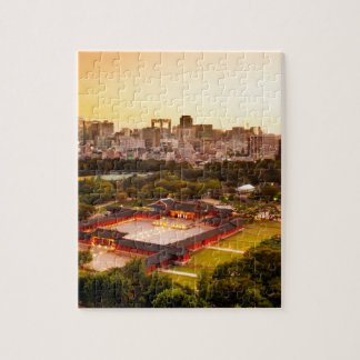 Seoul South Korea Skyline Jigsaw Puzzle