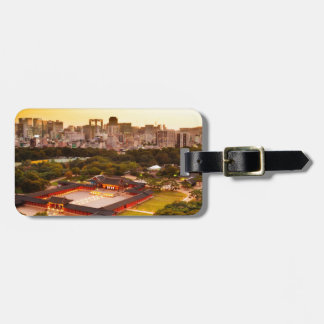 Seoul South Korea Skyline Luggage Tag