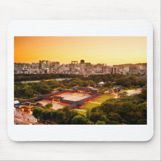 Seoul South Korea Skyline Mouse Pad