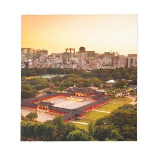Seoul South Korea Skyline Notepad