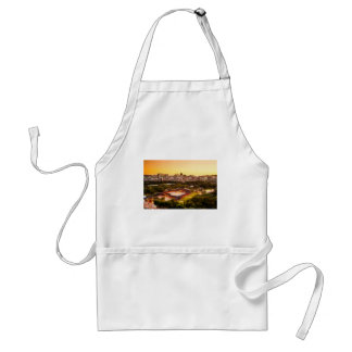 Seoul South Korea Skyline Standard Apron