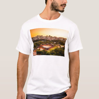 Seoul South Korea Skyline T-Shirt