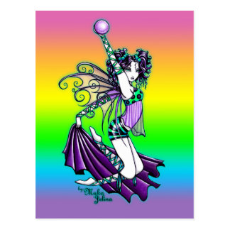 """Sepheria"" Cute Celestal Dancing Fairy Postcard"