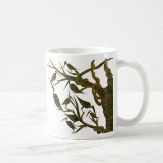 Sepia Birds Mug