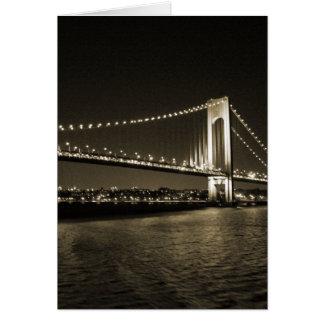 Sepia Bridge card