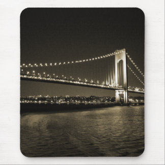 Sepia Bridge mousepad