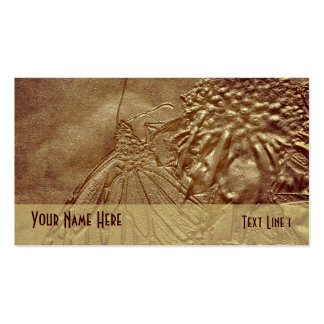 Sepia Butterfly Nature Business Card