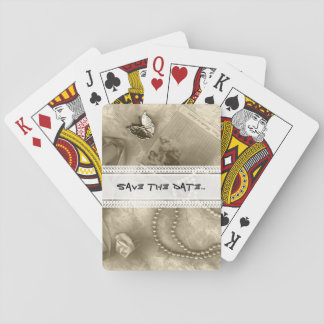 Sepia collection playing cards