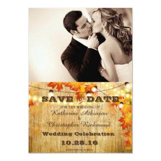 Sépia de mariage de baiser de couples carton d'invitation  12,7 cm x 17,78 cm