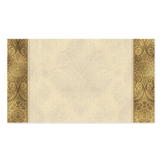 Sepia Faded Vintage Floral Pack Of Standard Business Cards